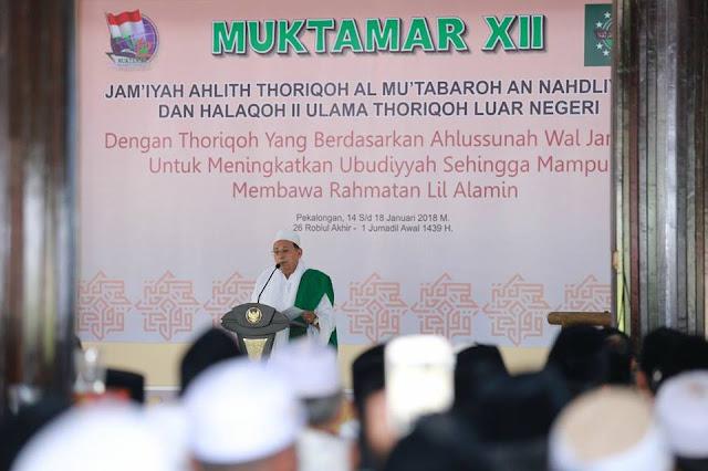 Para Ulama Luar Negeri Kagumi Jamiyyah Thoriqoh NU yang Mampu Menyatukan 43 Aliran