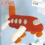 patron gratis avion amigurumi | free amigumi pattern plane amigurumi