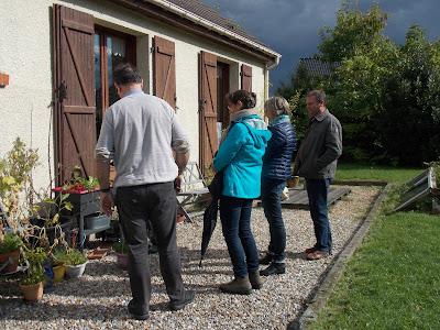 Visite de mon jardin organisée par la FREDON Nord-Pas-de-Calais lors de la formation des vendeurs en jardinerie