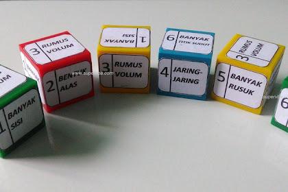 Unik! Permainan Ular Tangga pembelajaran Matematika SD materi Perpangkatan dan Bangun Ruang