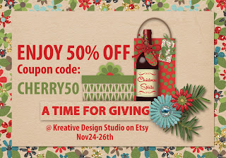 big discount at Kreative Design Studio for three days only