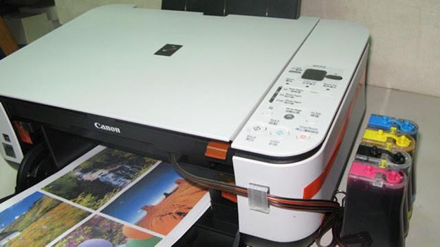 Kemarin aku mendapati service printer  Penyebab Dan Cara Mengatasi Error P08 Canon MP258