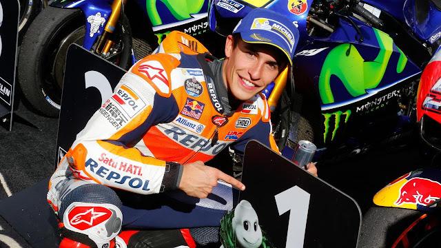 Marc Marquez, berpeluang meraih titel gelar juara dunia 2017
