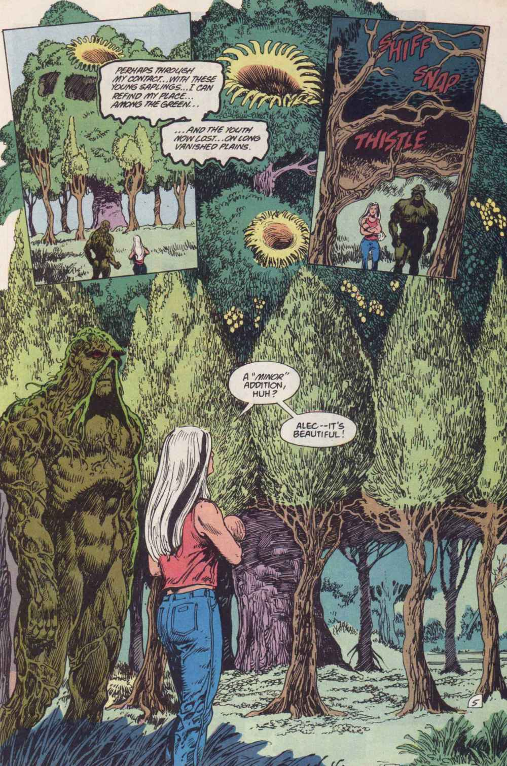 Swamp Thing (1982) Issue #91 #99 - English 5