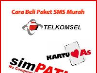 Cara Membeli Paket SMS Gift Telkomsel