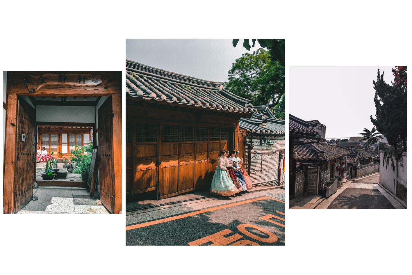 Hanok Séoul