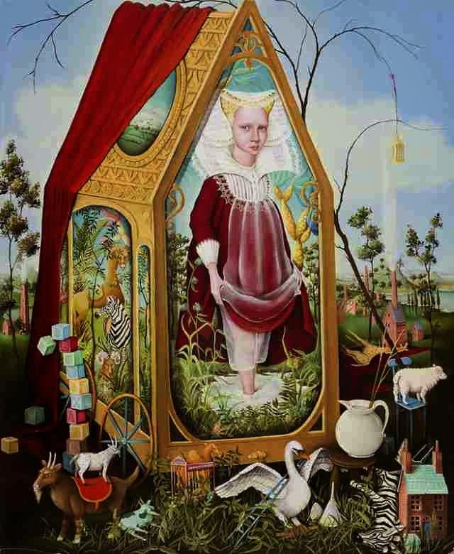 Символические картины. Heather Nevay
