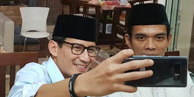 Ustadz Somad Sambut Sandiaga Uno di Riau, LAM: Ada Arak-arakan