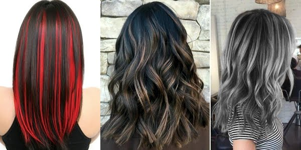Wonderful Highlights For Dark Hair The Haircut Web