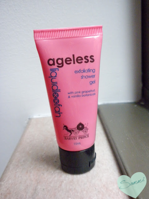 August 2015 Empties | Products I've Used Up | Harvey Prince | Ageless Liquid Loofah