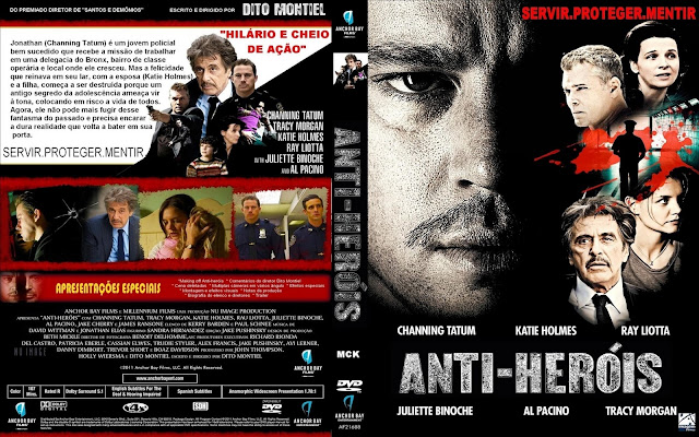 Capa DVD Anti Heróis