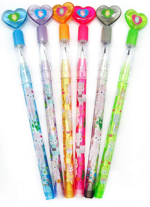 Pencils with Llamas