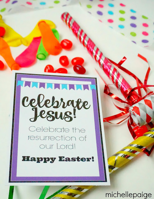 Celebrate Jesus Easter Favor