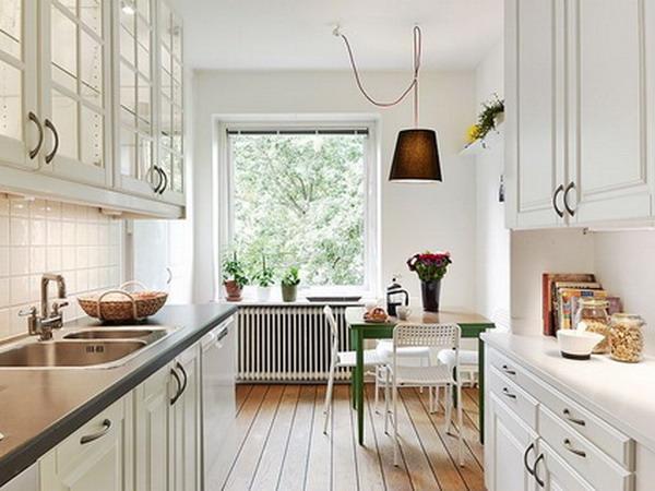 Modern White kitchen furniture 8