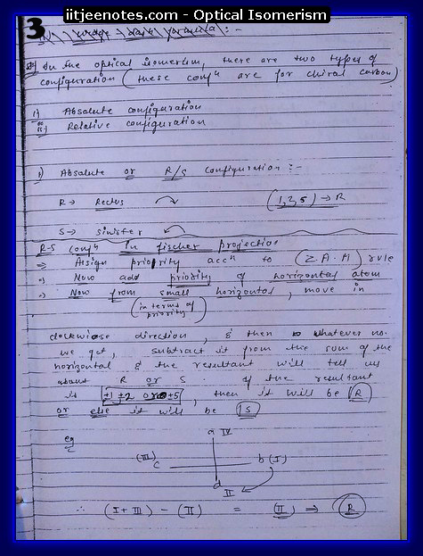 Optical Isomerism 3
