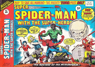 Super Spider-Man with the Super-Heroes #187, Mind-Worm