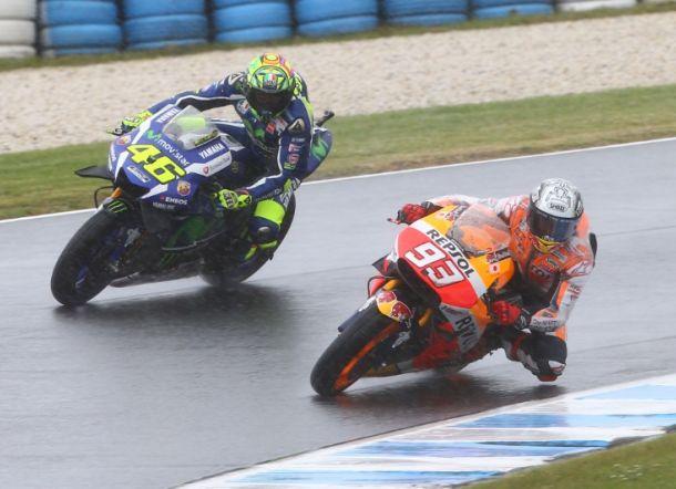 Rossi dan Marquez di MotoGP