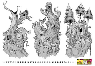 http://studioblinktwice.deviantart.com/art/3-Tree-House-Concepts-613617568