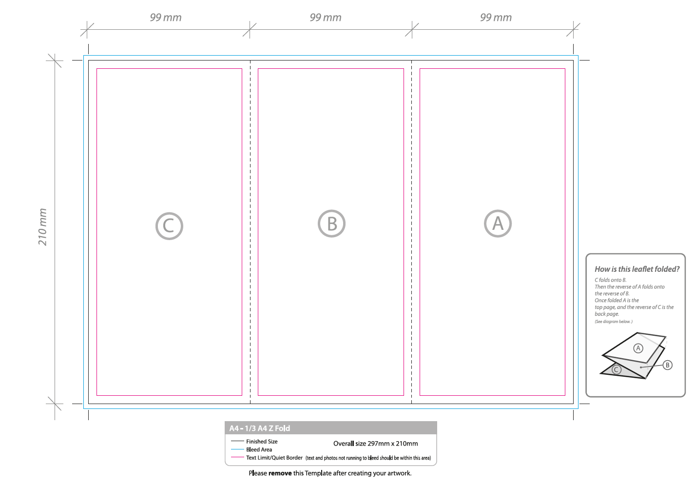 A Z Fold Brochure Template APA Templates - 11x17 brochure template