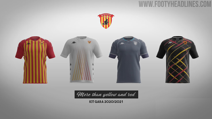 Benevento 20-21 Home, Away, Third & Special Serie A Kits Released - Footy  Headlines