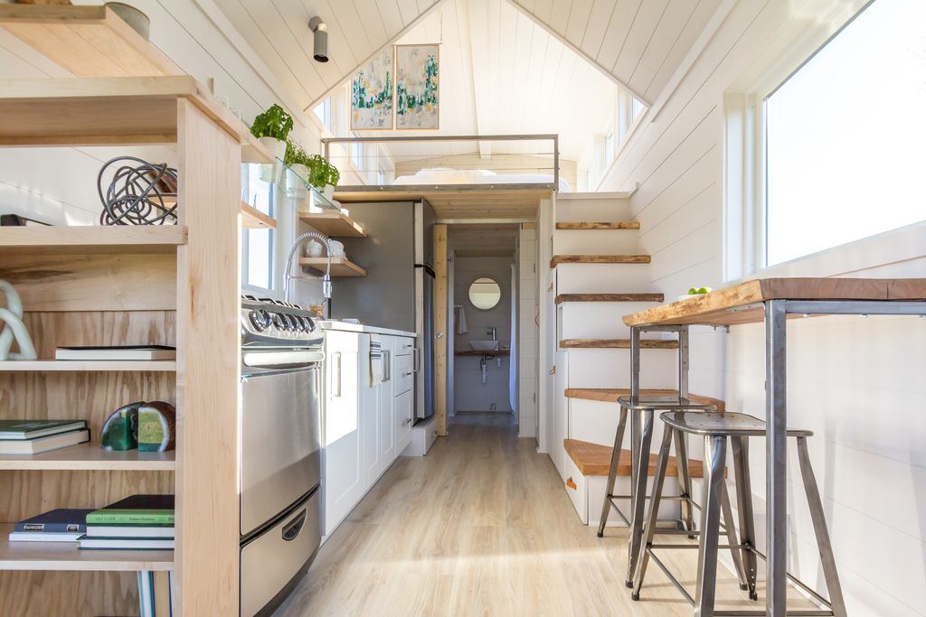Tiny House Town The Elsa From Olive Nest Tiny Homes