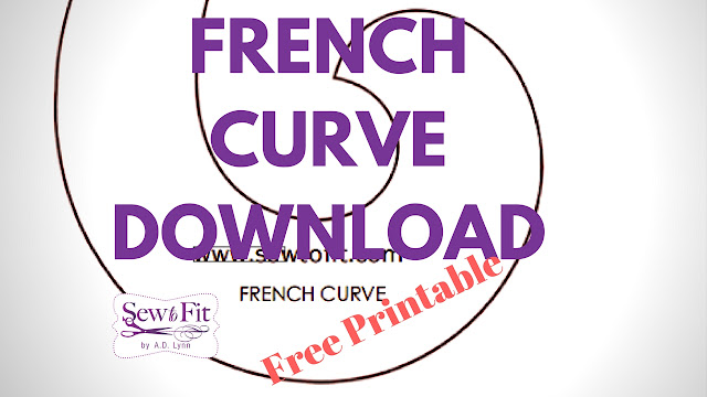 picture regarding Printable French Curve called Sew-Towards-In shape by means of A.D. Lynn: Totally free Presents