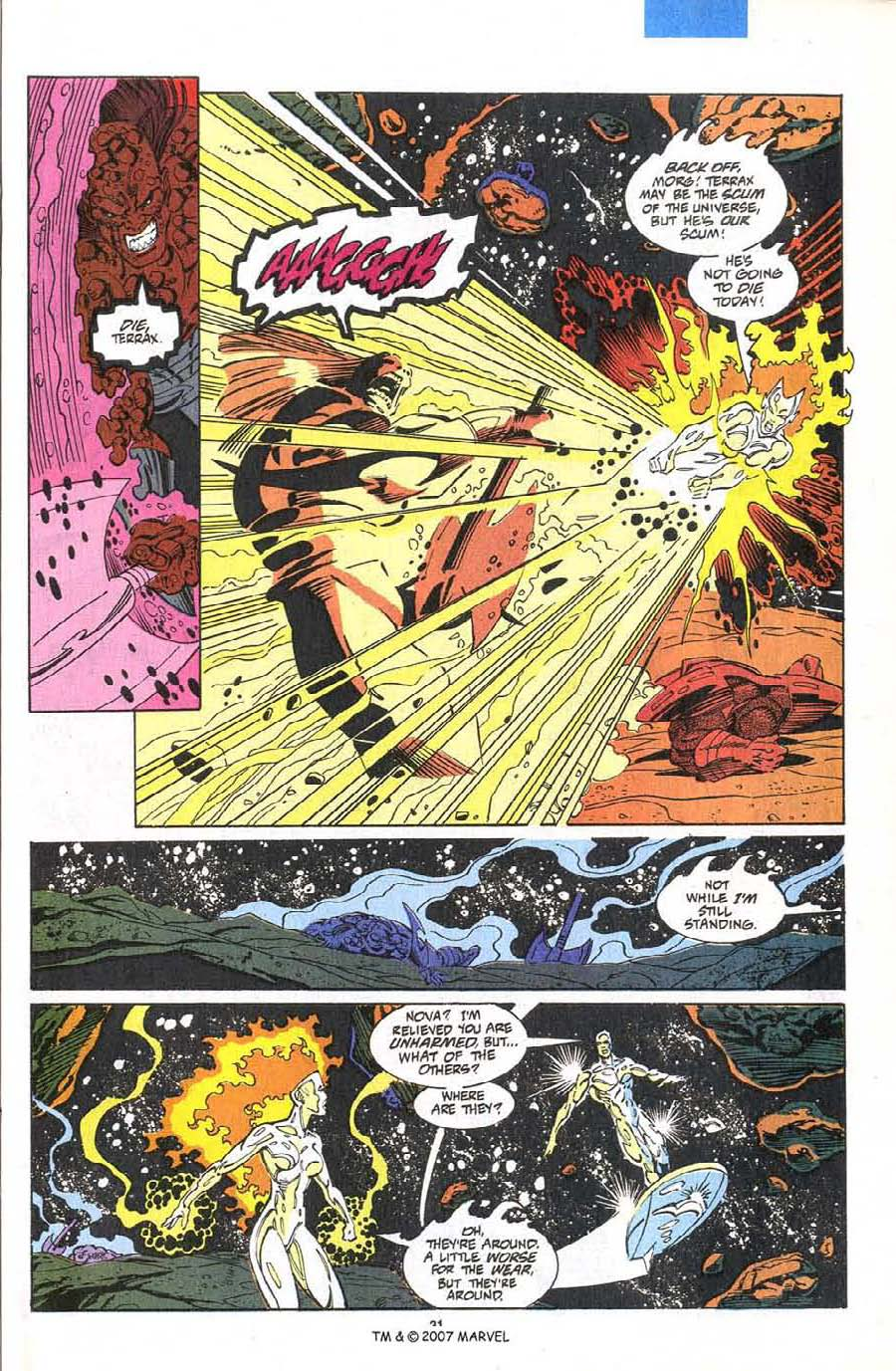 Read online Silver Surfer (1987) comic -  Issue #75 - 33
