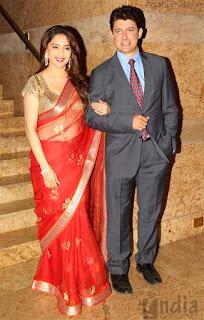 madhuri dixit nene with husband shriram nene (4)