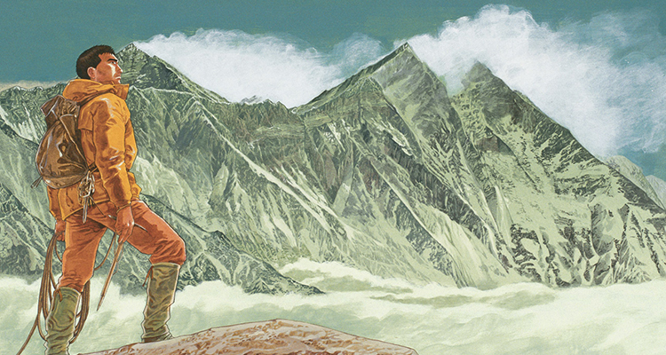 Summit of the Gods, by  Jiro Taniguchi.