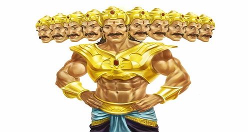 few lines on dussehra in hindi