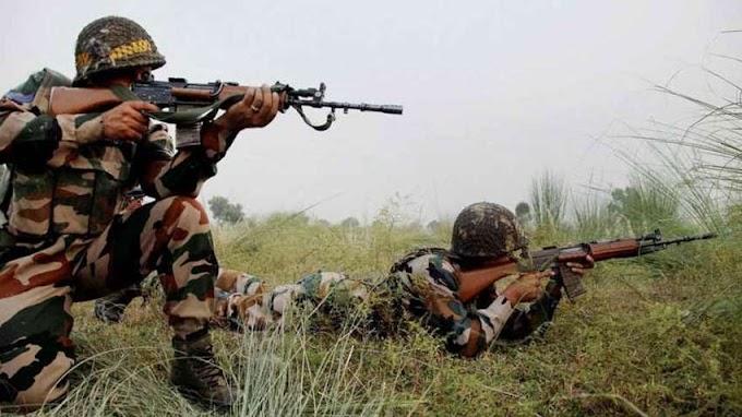 आतंकियों द्वारा फिर सेना पर हुआ हमला, 7 जवान घायल.
