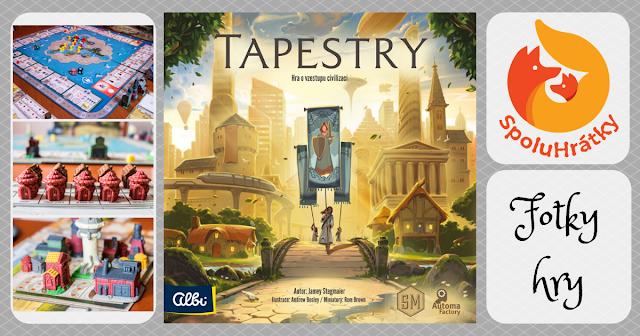 Fotky hry Tapestry na blogu www.spoluhratky.eu