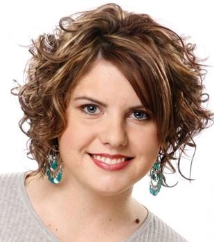 model rambut pendek wanita gemuk