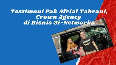 Testimoni Afrial Tabrani di CAR 3i-Networks
