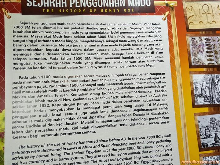 Lawat Muzium Perak di Taiping Kenali Lebah dan Madu