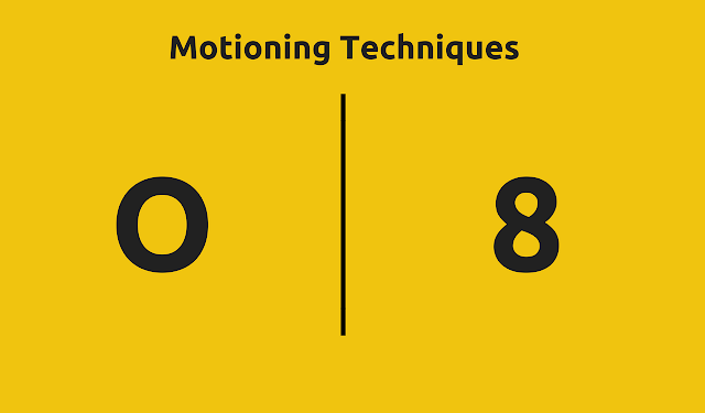 Sanding Motioning Techniques