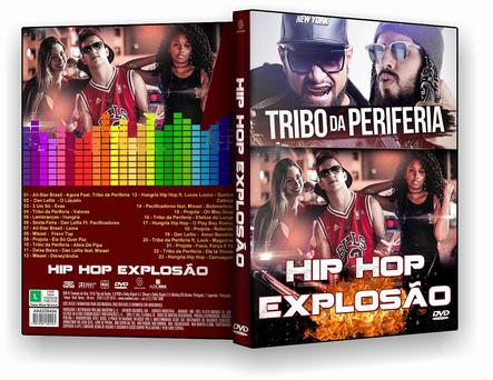 Hip hop Explosão (2017) DVD-R
