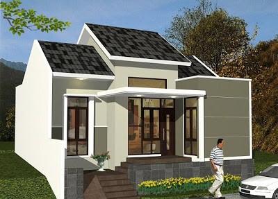 model rumah cantik sederhana 1