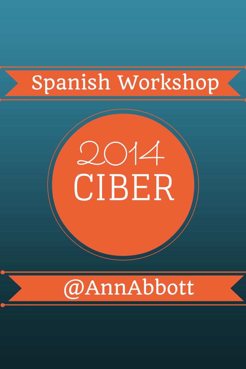 CIBER Business Languages Conference 2014: Spanish Workshop