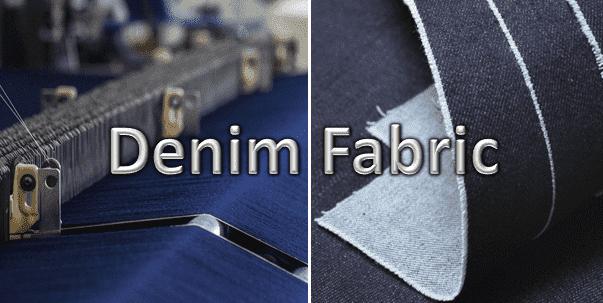 Denim fabric production