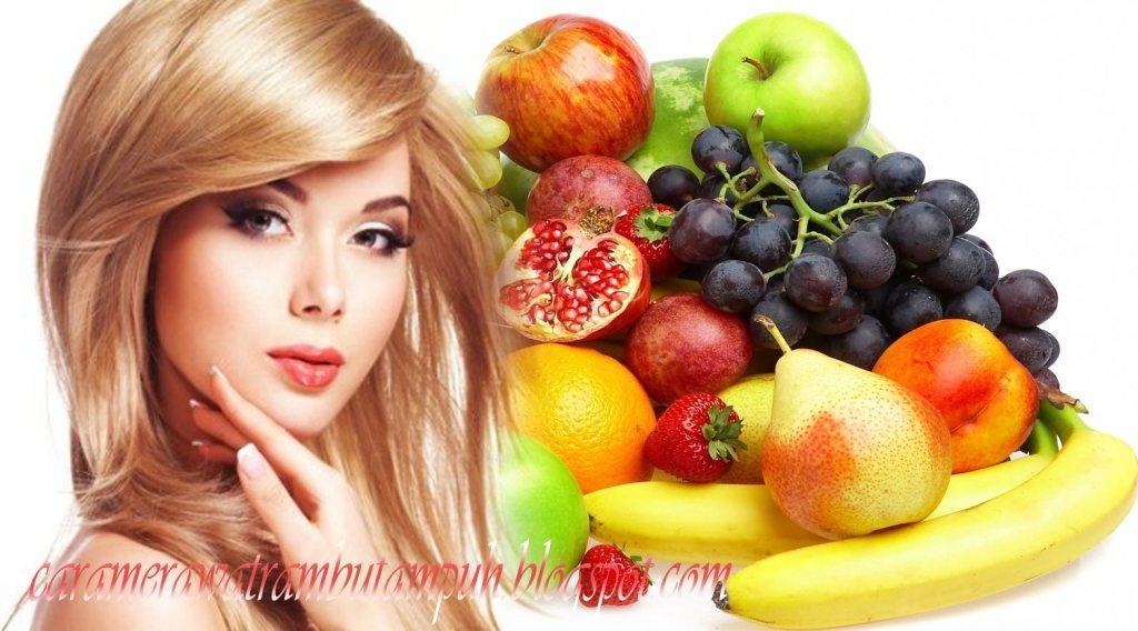 Delapan Buah-buahan ini Bisa dijadikan Masker Rambut dan Kulit! Rambut dan kulit kepala sehat dengan resep ini