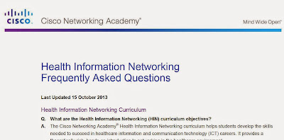 Health Information Networking FAQ