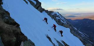 Scottish winter mountaineering