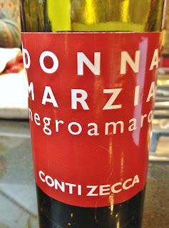 2010 Conti Zecca Donna Marzia Negroamaro