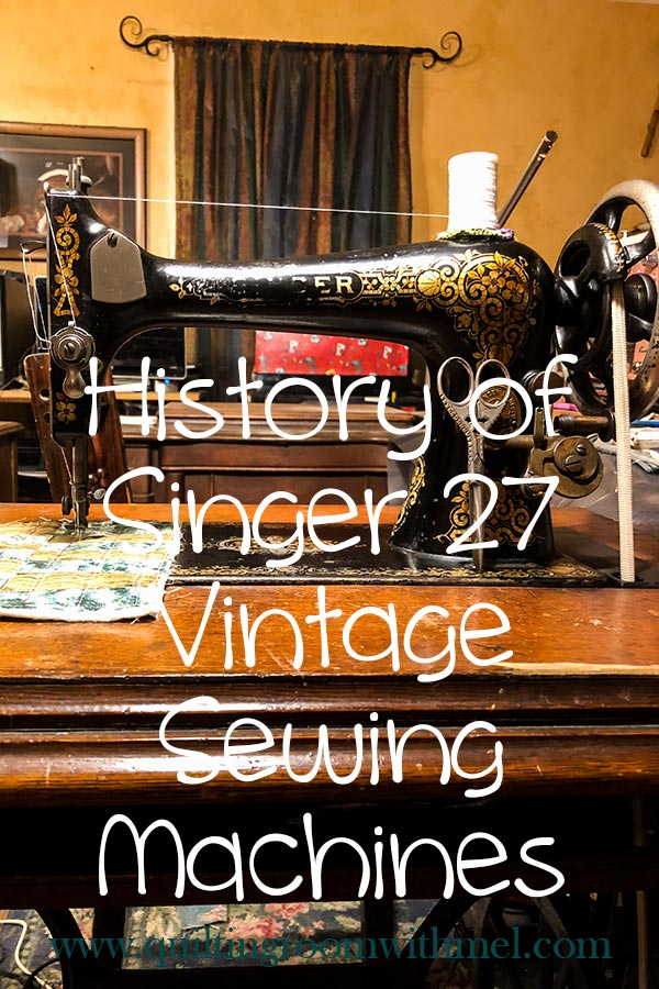 Learn more about the evolution of the Singer 27 sewing machine starting with the VS 1