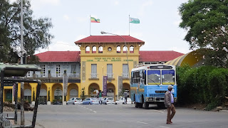 "Central Station called ""La Gare"" in Ethiopia"