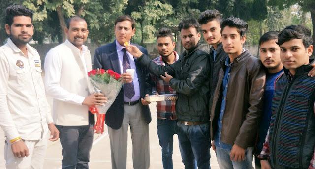 Iqbal Singh congratulated Iqbal Singh on becoming Principal of Tigao College