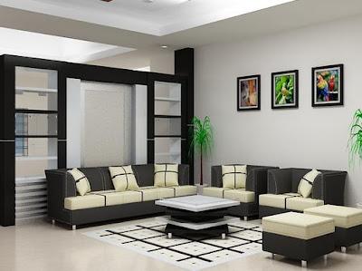 ruang tamu minimalis modern | model rumah modern