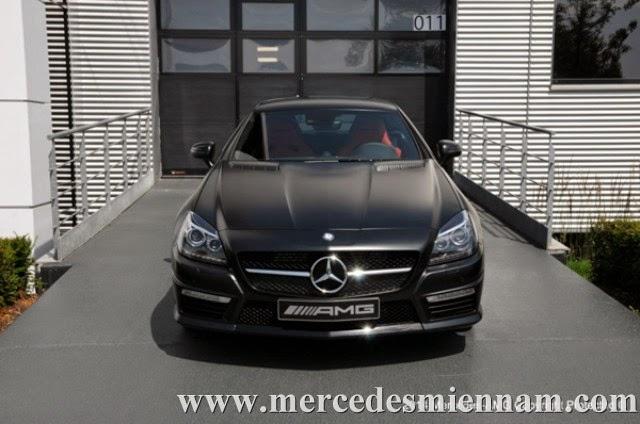 xe Mercedes Benz SLK55 AMG phiên bản Performance Studio 01
