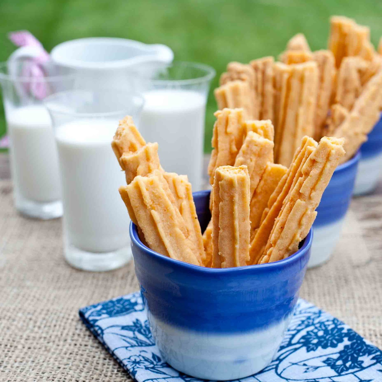 Kitchen Recipes: FOODjimoto: Cheese Straws